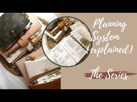 My Overall Planning System (and how I use it) - Explained l INTRODUCTION TO THE SERIES