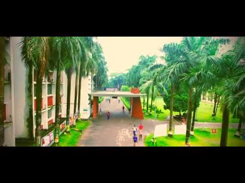 Aerial View Dhaka university of engineering and technology