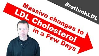 Incredible Changes in LDL Cholesterol Through a Simple Diet Experiment