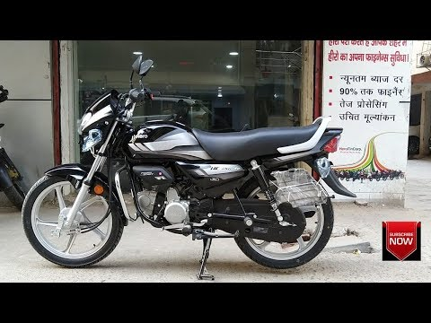 Hero Hf Deluxe 100cc With I3s Bs4 Aho Actual Showroom Look Real Life Review Youtube