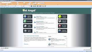 Using Bet Angel - Selecting 'Live' or 'Practice' mode