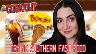 Trying Southern Fast Food Chains For The First Time
