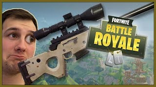 DET LENGSTE SKUDDET - Fortnite: Sniper Shootout