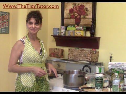 cooking, organization, being a homemaker