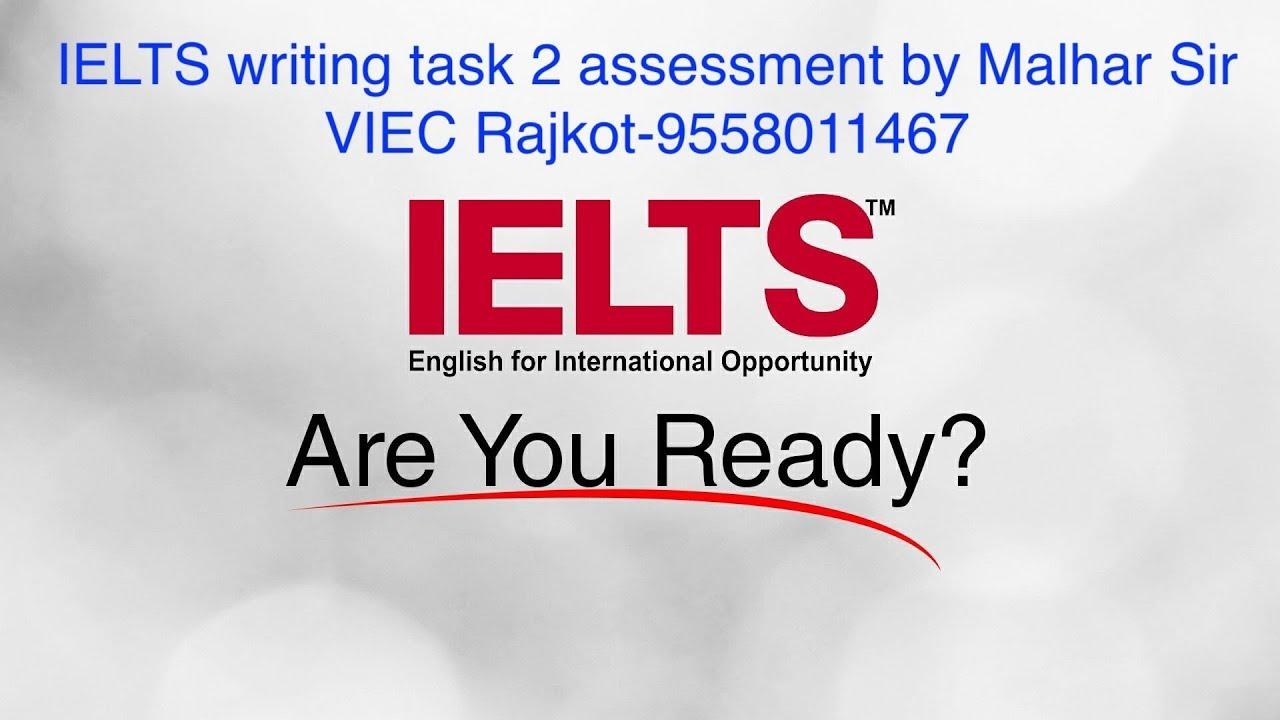 IELTS writing task 2 assessment