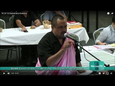 10 24 16 Perry White cross examined by Kamahana Kealoha