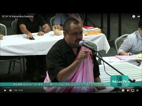 10 24 16 Perry White cross examined by Kamahana Kealoha