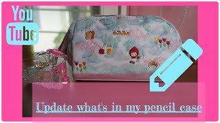 Update what's in my pencil case |UMI 'S VIDEO|