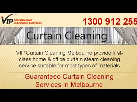 Drapery Curtain Cleaning Melbourne