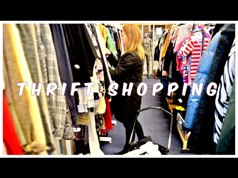 Thrift shopping adventure in ROSKILDE DENMARK