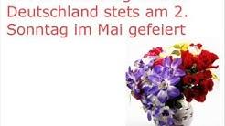 Muttertag 2013: Video zur Herkunft des Muttertages