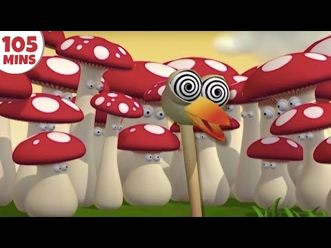 Thumbnail: Gazoon | Cartoons for Children | The Hallucinating Ostrich | Funny Cartoons by HooplaKidz TV