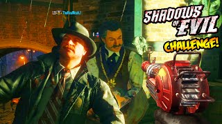"BLACK OPS 3 ZOMBIES - POD GUNS ONLY ""SHADOWS OF EVIL"" CHALLENGE! (BO3 Zombies)"