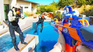 Nerf War: Mansion Battle