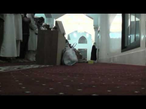 UAE Qari Reciting Maghrib Prayer at a Mosque in Abu Dhabi Part 1/2