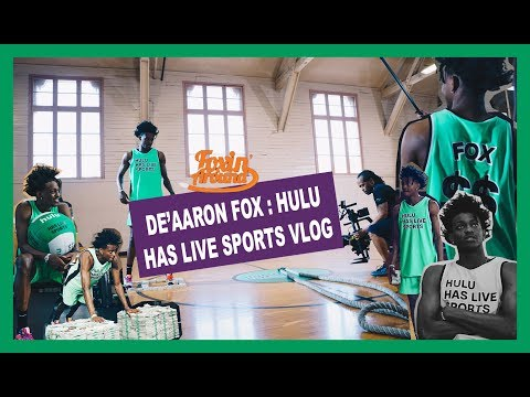 Foxin Around Hulu Has Live Sports Shoot