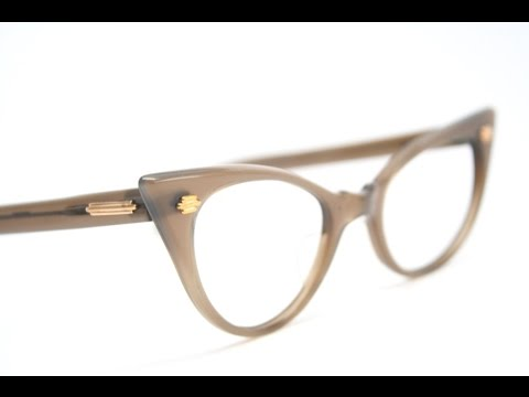 0edc716b37 cat eye glasses frames - YouTube