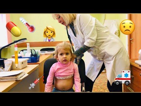 Викуся у врача в детской поликлинике - Часть 1 - Проверяем здоровье!.