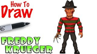 How to Draw Freddy Krueger