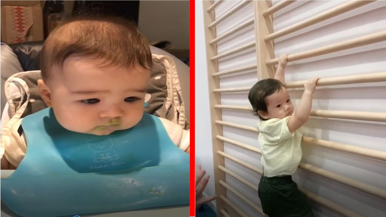 Try Not To Laugh Babies TROUBLE MAKER and FAIL  TOP BABY FUNNY Soo Cute 3
