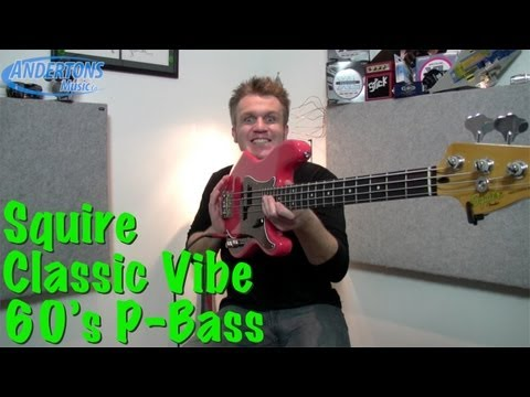 Fender Squier Classic Vibe 60's P-Bass Review