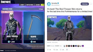THE SKULL TROOPER IS COMING BACK! HERE'S ALL THE PROOF WE HAVE!