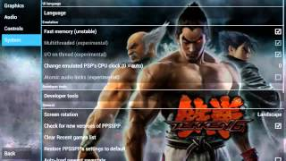 PPSSPP 0 9 8 Tekken 6 Gameplay with settings Android
