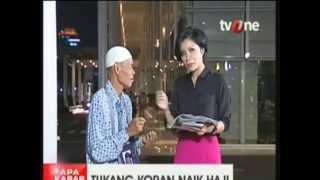 Pak Sadino Tukang koran naik Haji