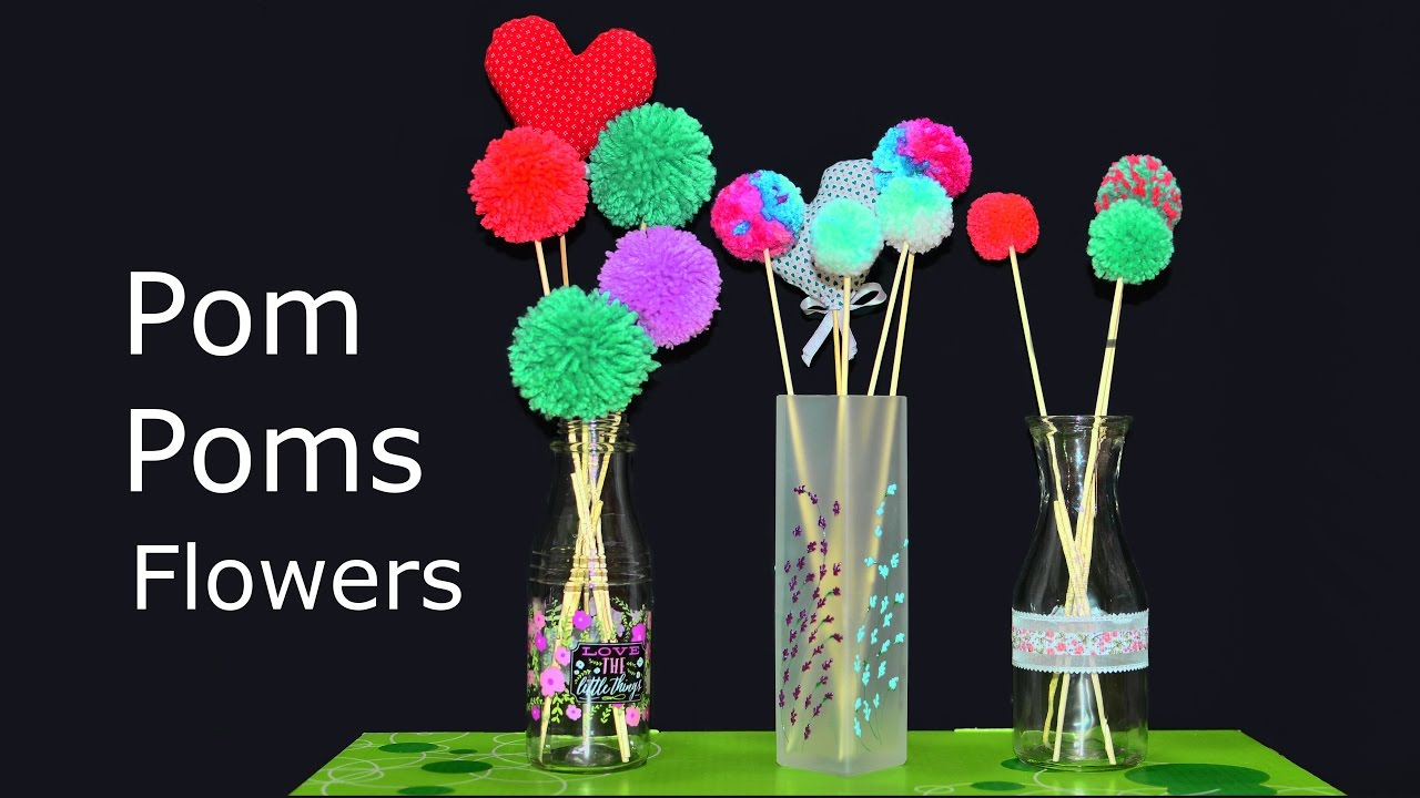 flower vase arrangement how to make