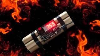 Bomb Timer/Explosion Sound Effect (Wait 8sec)