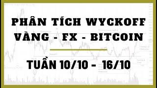 ✅ Phân Tích VÀNG-FOREX-BITCOIN Tuần 10-16/10 Theo Phương Pháp WYCKOFF | TraderViet