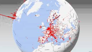 International Coauthor Locations on MRC Publications (Update)