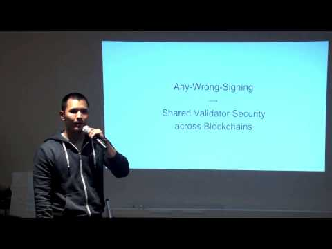 SF Bitcoin Devs Seminar: A deep dive on Tendermint. Consensus without Mining