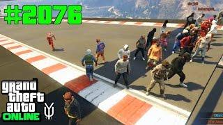 GTA 5 ONLINE 30 Mann Royal Rumble im XXL Wrestling Ring #2076 Let`s Play GTA V Online PS4 2K