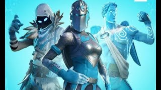 NOUVEAU FROZEN SKINS (Bame joue solo - Fortnite Battle Royale )