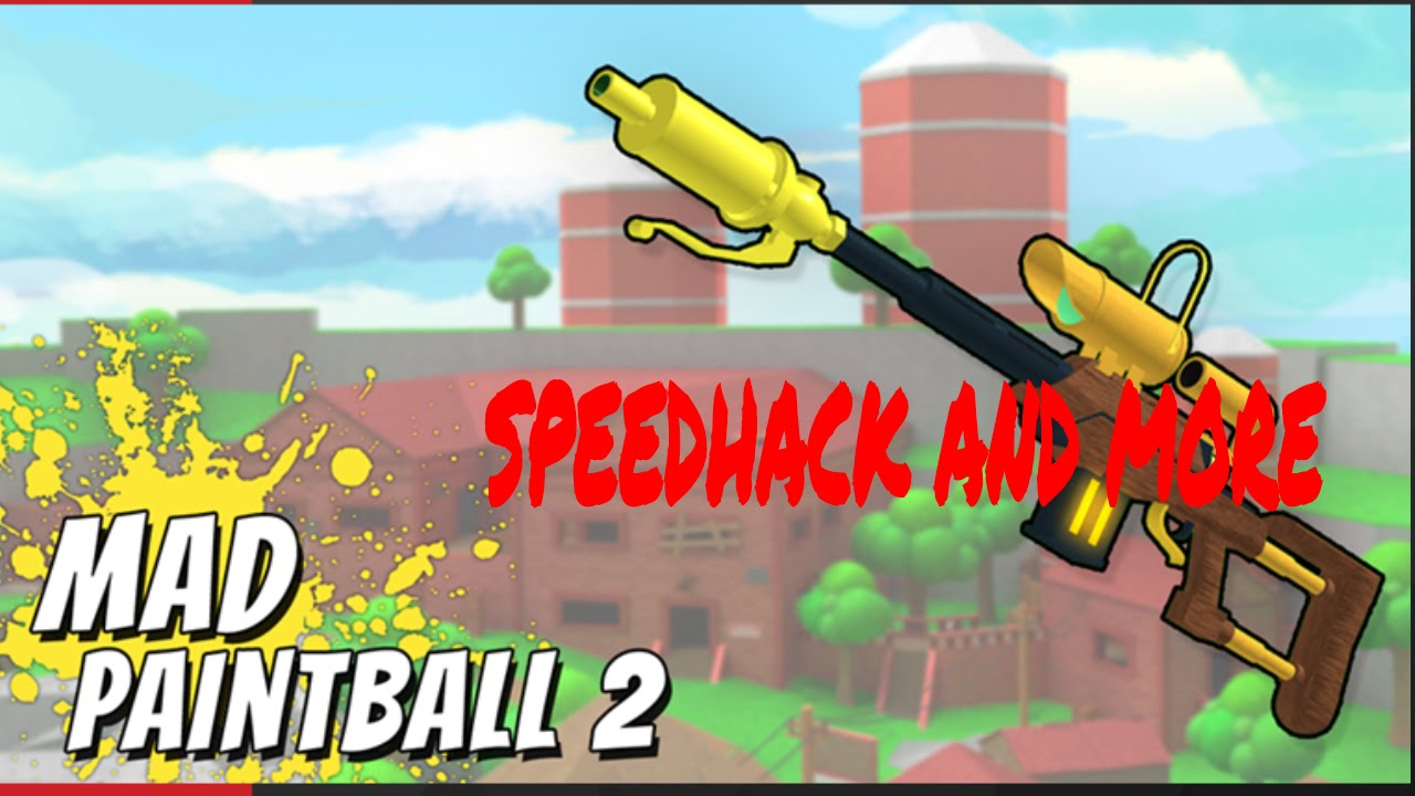 Roblox Mad Paintball 2 Speedhack Patched Youtube