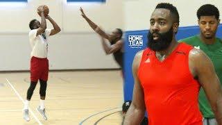 James Harden NBA MVP Highlights at Rico Hines UCLA Run! Houston Rockets