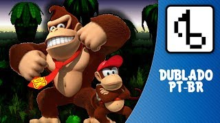 Donkey Kong Country WITH LYRICS - brentalfloss | FANSING PT-BR |