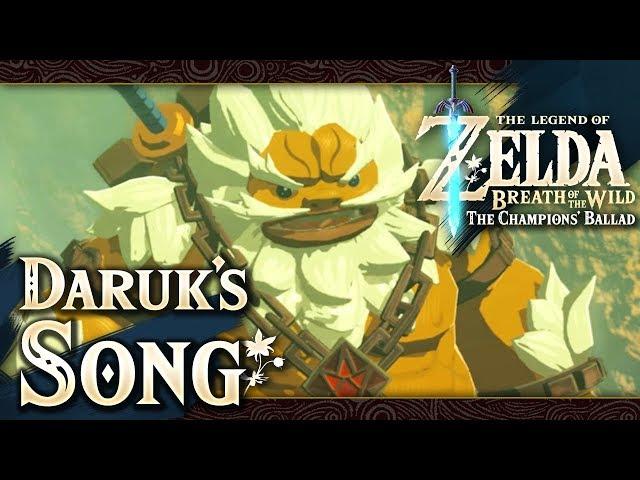 The Legend of Zelda: Breath of the Wild - Part 79 - Champion Daruks Song