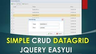 Datagrid Php Crud Tutorial – Icalliance