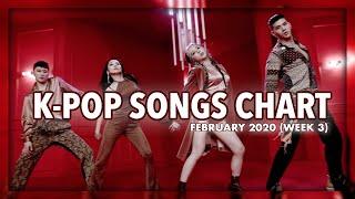 Baixar (TOP 100) K-Pop Songs Chart | February 2020 (Week 3)