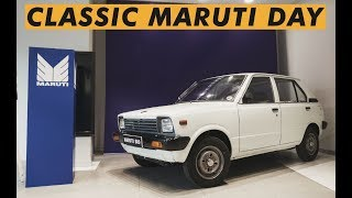 The day we celebrated 35th anniversary of Maruti 800 - Classic Maruti Day