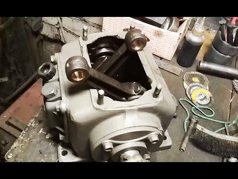 Ремонт компрессора своими руками со 7б
