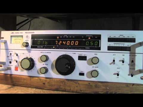 JRC NRD -93   7.240 mhz  Swap & Shop