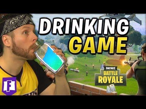 Fortnite Drinking Game!