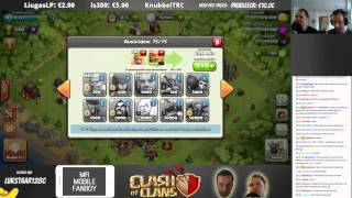 CLASH OF CLANS || ANGRIFFE UND BESUCHE || Twitch Stream 13.04. Teil 1 [Deutsch/German HD]