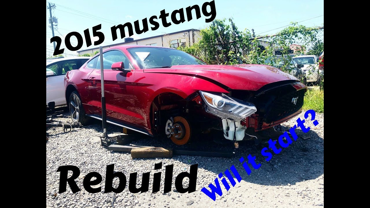 will-my-wrecked-2015-mustang-start