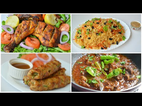 TOP 4 DAWAT RECIPES by (YES I CAN COOK)
