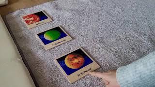[몬테소리-문화영역] 태양계 세부분 카드