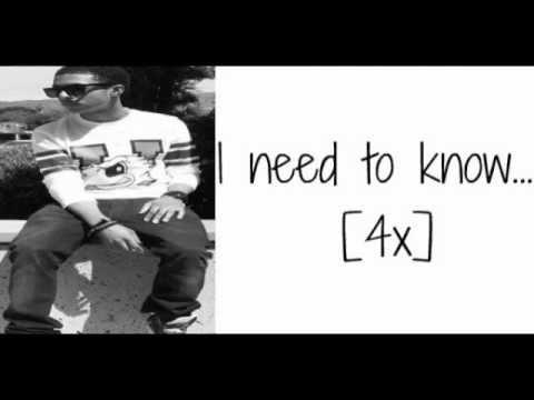 Diggy Simmons - Need To Know (Lyrics)